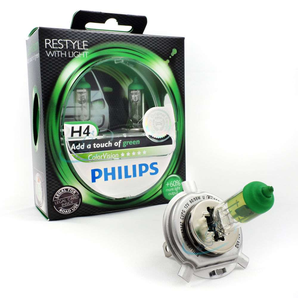 H4-COLORVISION-60-piu-luce-2st-PHILIPS-w5w-Neolux-SONAX-lucidita miniatura 5
