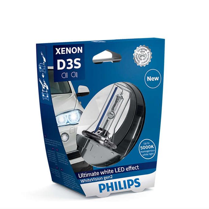 D3S-42V-35W-WhiteVision-Xenon-gen2-2St-Philips-H6W-Standlicht-Sonax-Klarsicht Indexbild 5