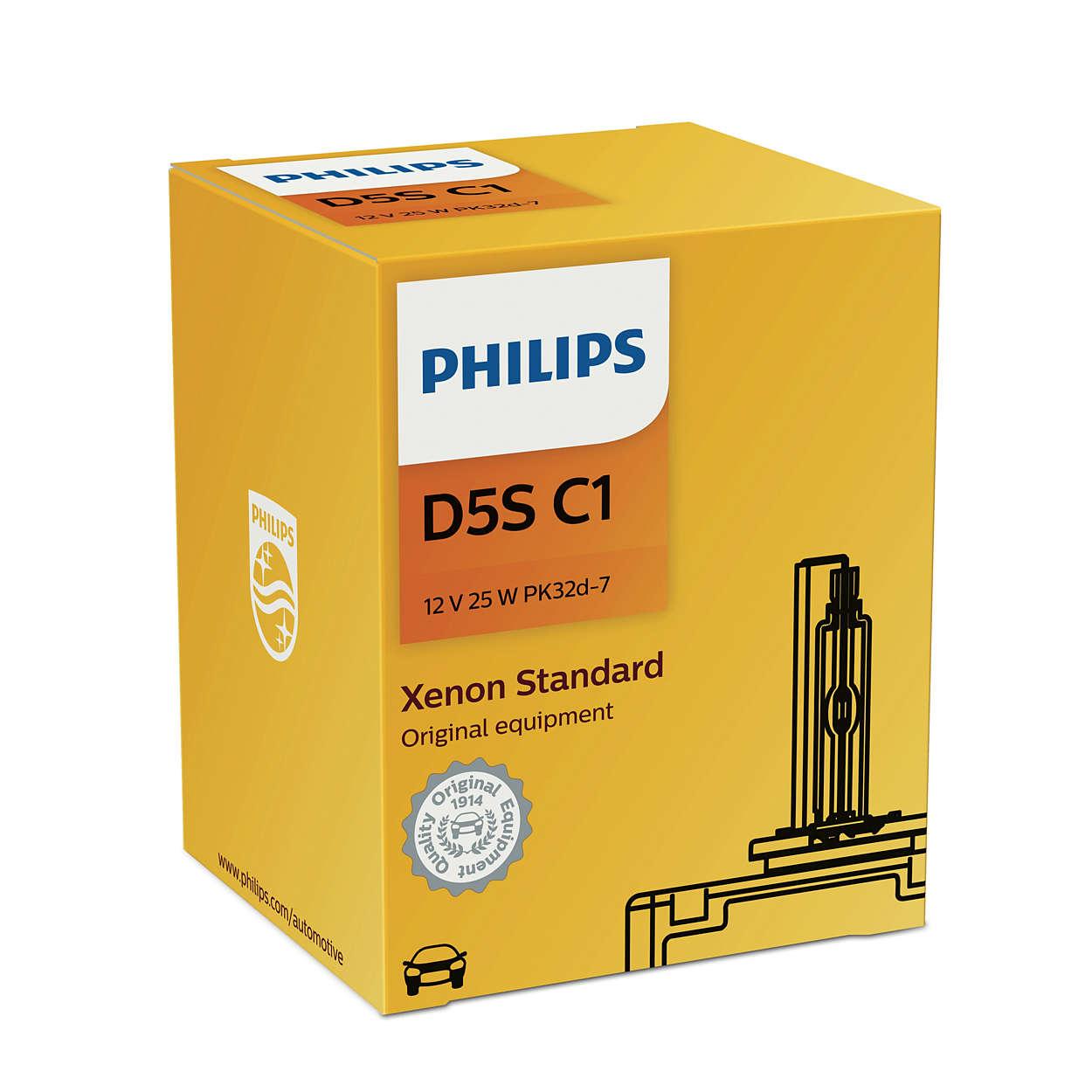 D5S-12V-25W-Vision-Xenon-Brenner-4600K-2St-Philips-W5W-Cool-Blue-Intense Indexbild 3