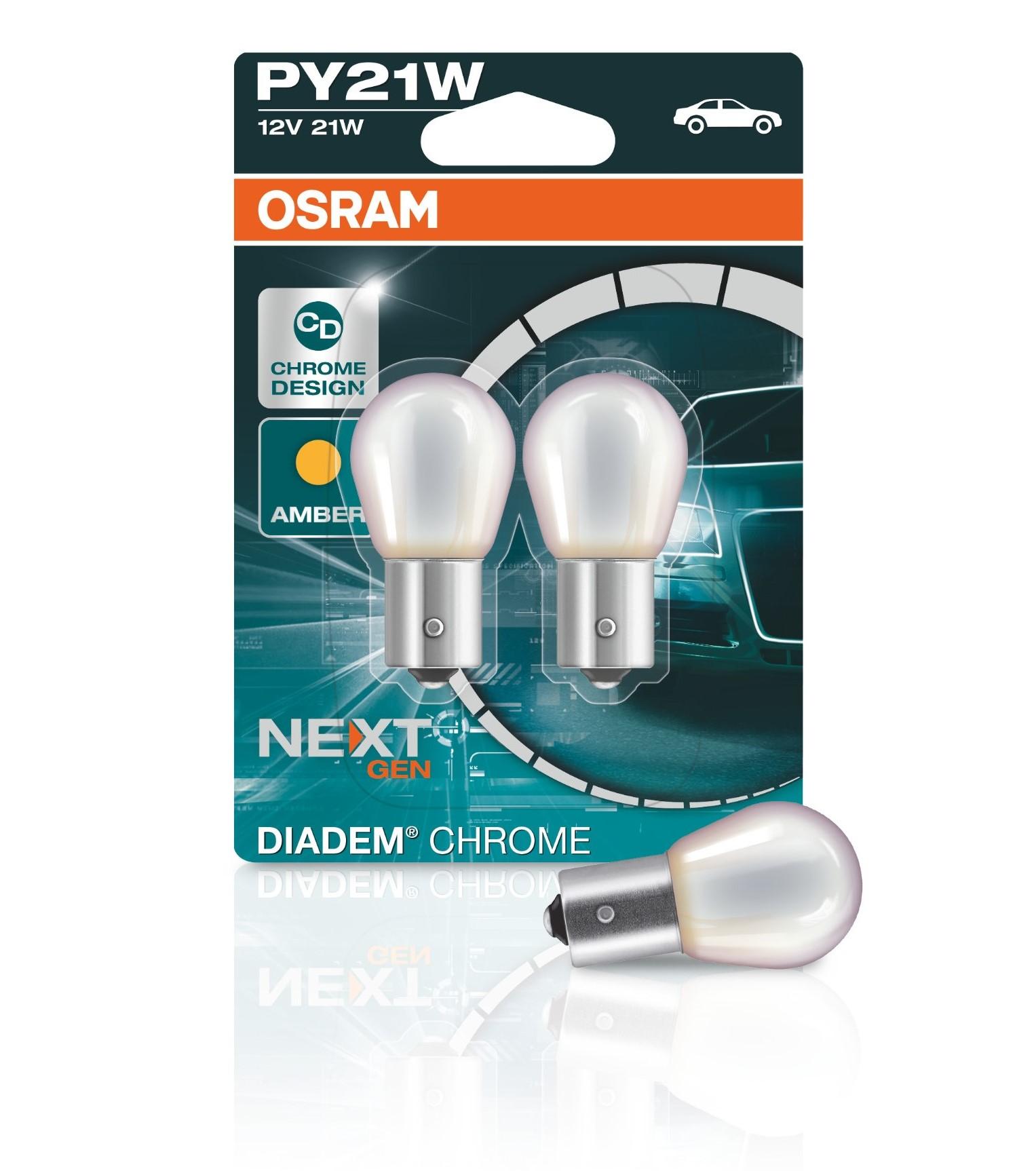 PY21W 12V 21W BAU15s Diadem Chrome NextGen. 2st. ...