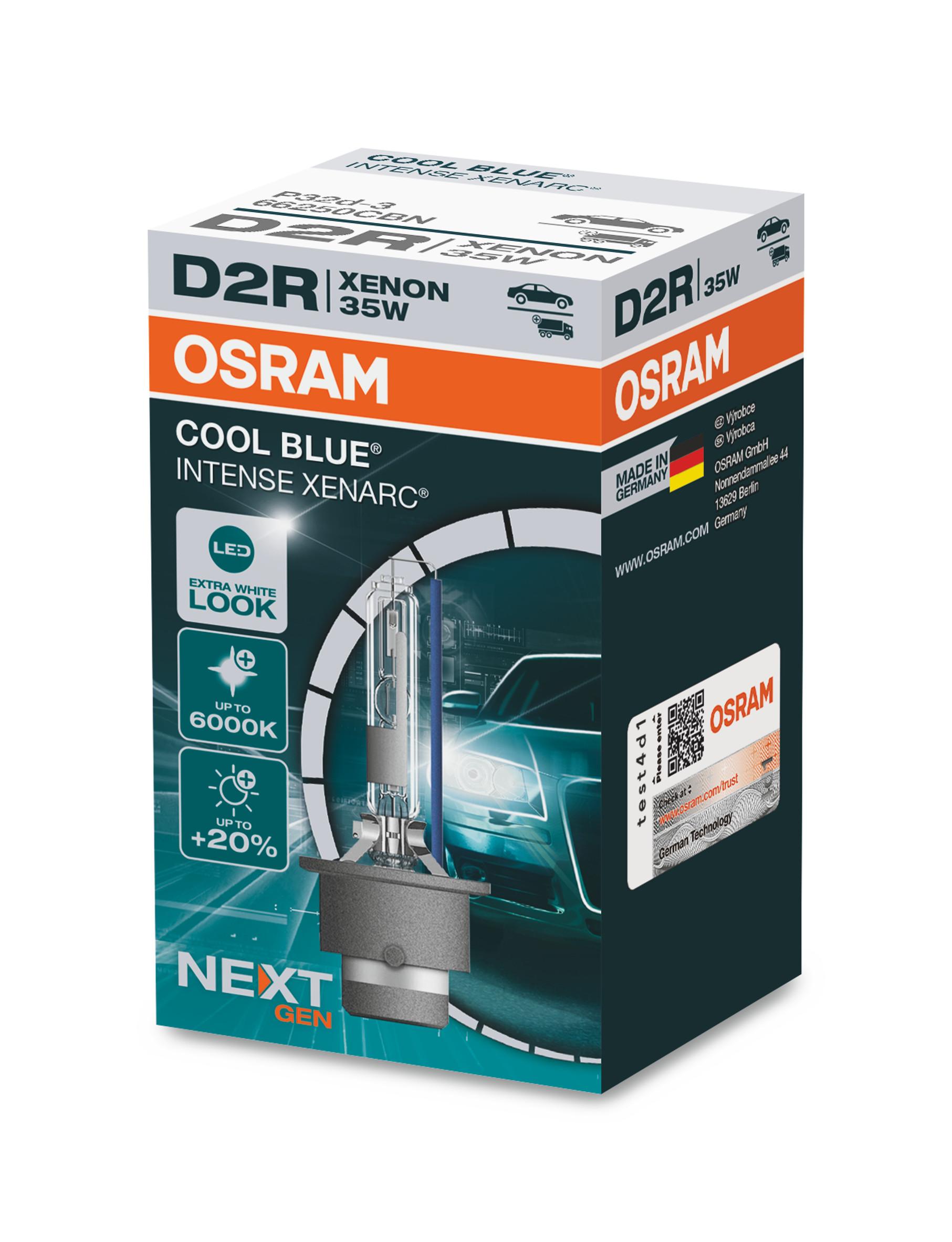 D2R 12V+24V 35W P32d-3 XENARC COOL BLUE INTENSE ...