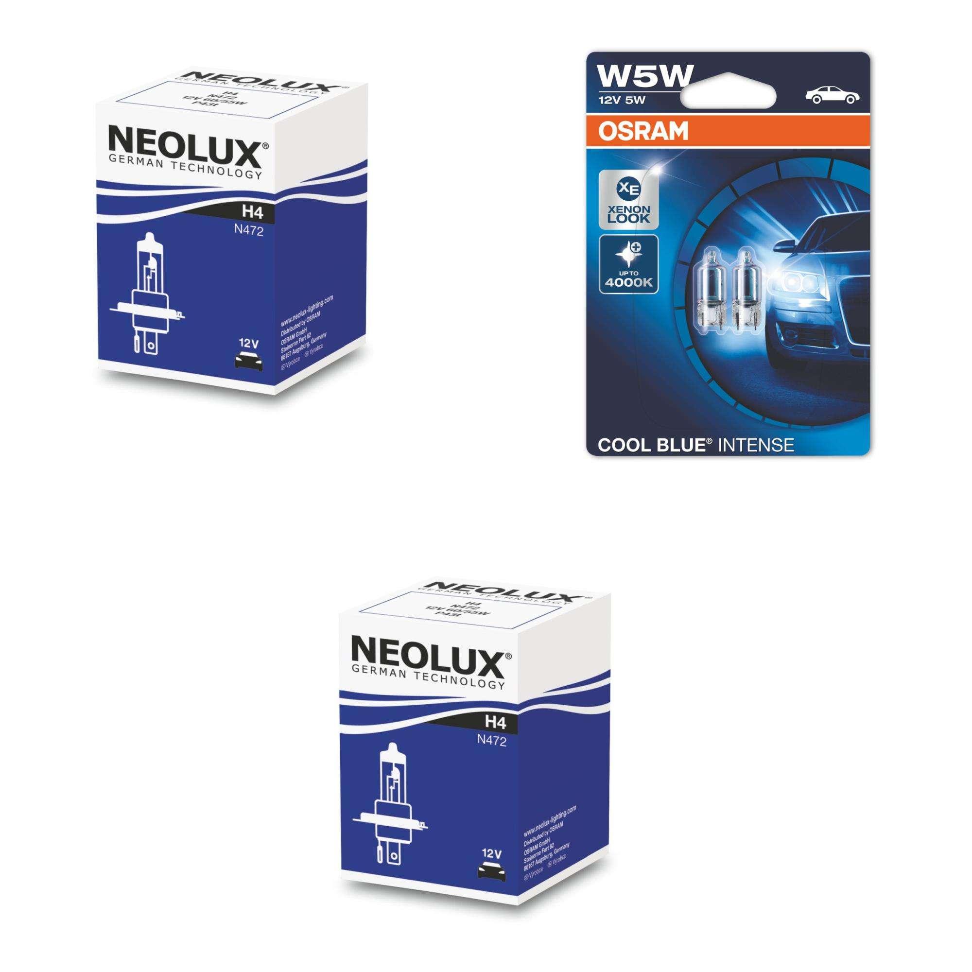 H4-12V-60-55W-Standard-Erstausruesterqualitaet-2St-NeoLux-W5W-Cool-Blue-Intense